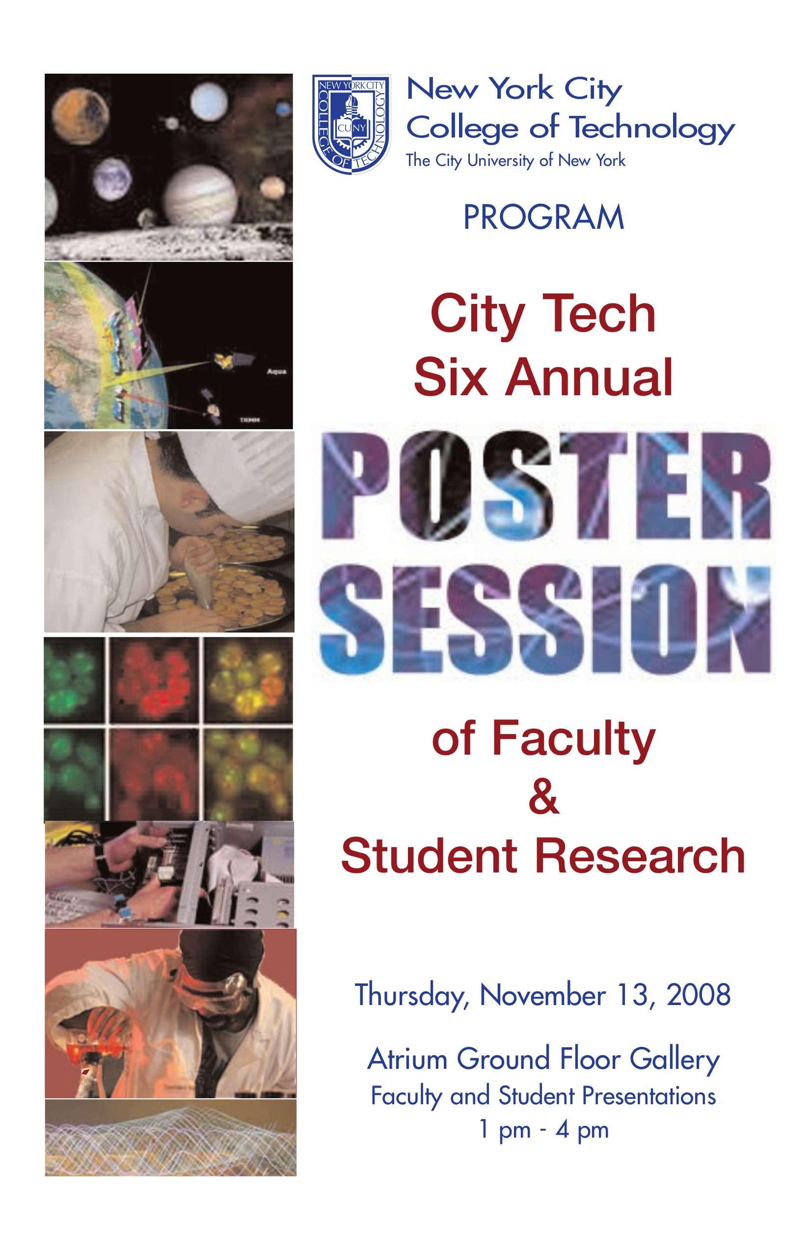 Programs. Historic poster