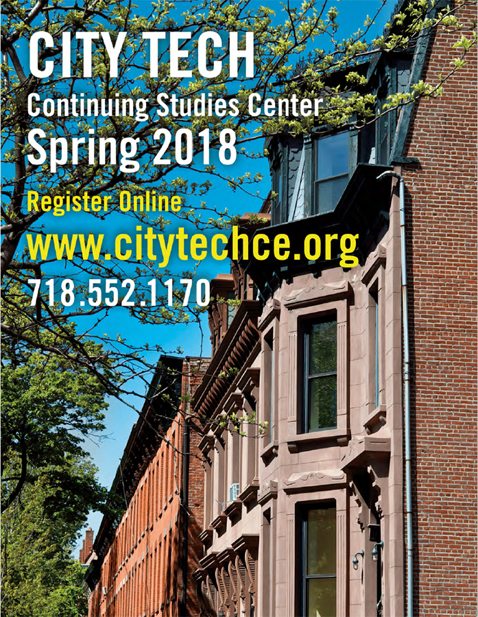 Continuing studies center city tech spring 2018 bulletin malvernweather Images